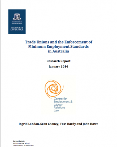 research papers trade unions